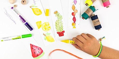 Kreativer Ferienkurs für Kinder und Jugendliche in den Sommerferien KW30 Tickets