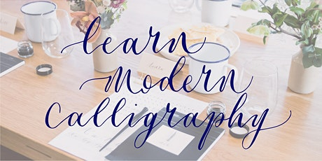 Beginners Modern Calligraphy with ERA Calligraphy, Mad Lilies, Banstead tickets