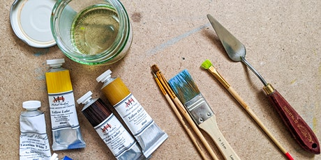 The Useful Art Class Online Introduction to Oil Painting Class tickets