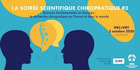 La Soirée Scientifique Chiropratique billets