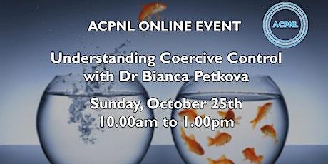Understanding Coercive Control tickets