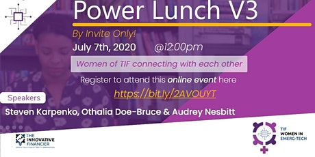 Power Lunch V3: Industrial Internet of Things & Digital Transformation tickets