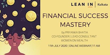 Financial Success Mastery_Lean In Kolkata Meet tickets