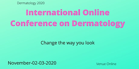 International Online conference on Dermatology tickets