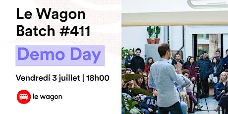Démonstration des projets du Wagon Bordeaux Batch #411 billets