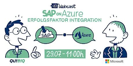 Webcast: SAP on Azure - Erfolgsfaktor Integration Tickets