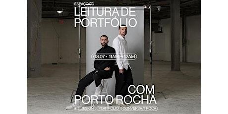 LEITURA DE PORTFÓLIO COM FELIPE ROCHA E LEO PORTO (08/07 - 11H) ingressos