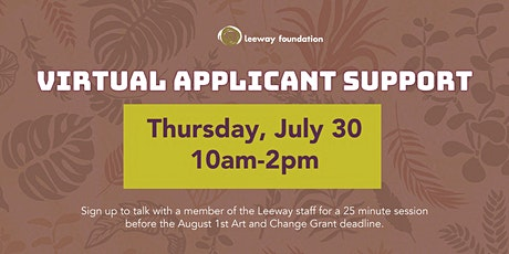 Virtual Applicant Support 07/30/2020 tickets