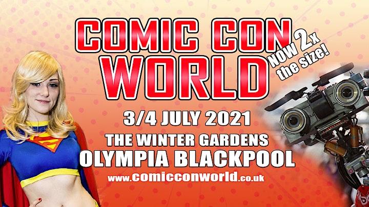Comic Con World - Blackpool May 2022 image