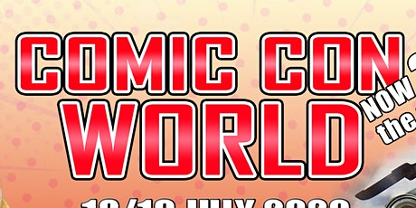 Comic Con World - Blackpool July 2021 tickets
