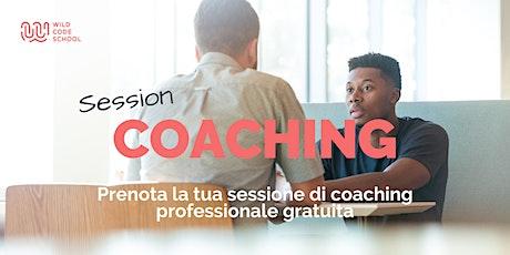 Sessione Coaching Professionale Gratuita - Settore Tech biglietti