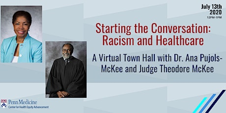 Starting the Conversation: A Virtual Town Hall on Racism and Healthcare tickets
