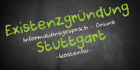 Existenzgründung Informationsveranstaltung - Online AVGS  Stuttgart Tickets