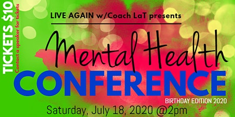 Mental Health Conference tickets