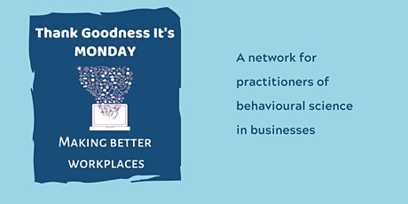 Thank Goodness It's Monday: Building New Habits tickets