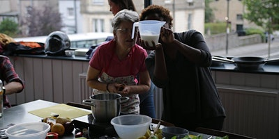 Ghanaian cookery class with Kay