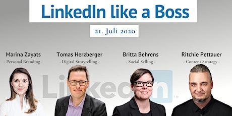 Masterclass: LinkedIn Like A Boss Tickets