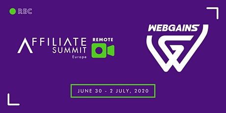 Affiliate Summit Europe: REMOTE bilhetes