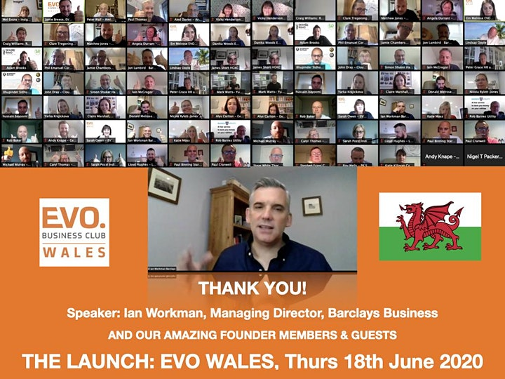 EVO WALES Ymlaen - Launch Event of a new networking group for Wales image