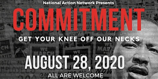 March on Washington: Get Your Knee Off Our Necks!