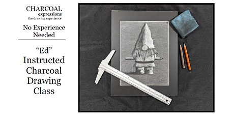 Virtual Charcoal Drawing Event - Ed the Gnome tickets