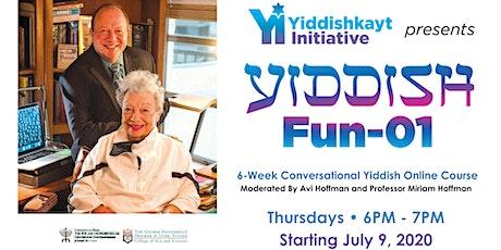 Yiddish Fun-01 - THURSDAY NIGHT CLASS tickets