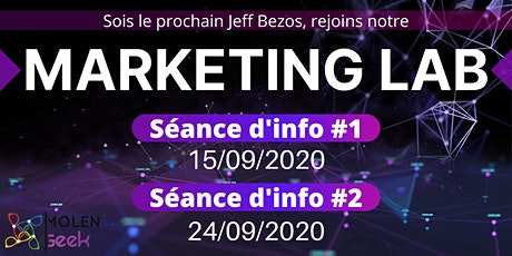 Marketing Lab 4 [Séance d'info 1] Meilleure formation en Marketing Digital. billets