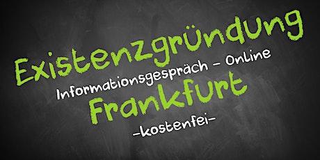 Existenzgründung Online kostenfrei - Infos - AVGS Frankfurt Tickets