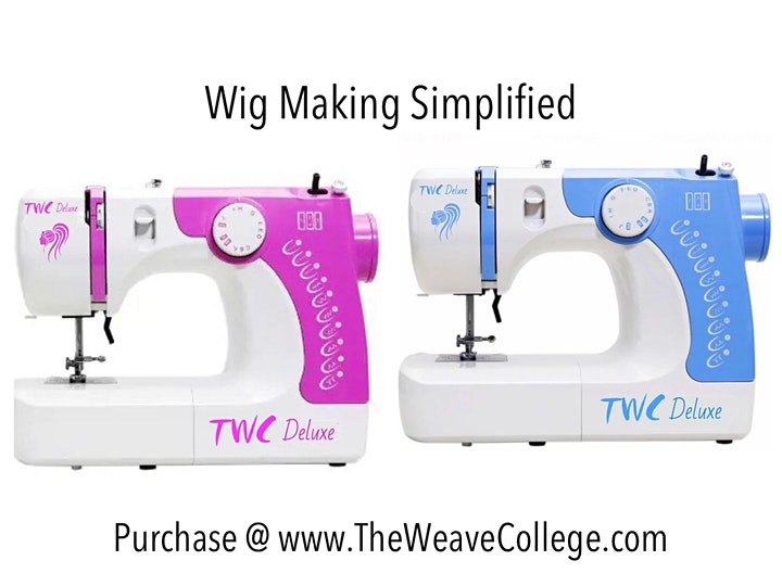 Jacksonville FL | Enclosed Wig or U-Part Wig Making Class Sewing Machine image