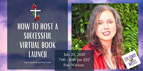 How to Host a Successful Virtual Book Launch by Jen Lowry tickets
