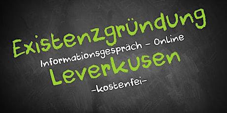 Existenzgründung Online kostenfrei - Infos - AVGS  Leverkusen Tickets