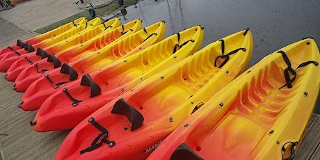 Sit on top kayaking tickets
