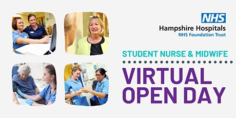 Student Nurse & Midwife Virtual Open Day - Hampshire Hospitals tickets