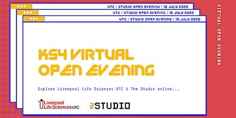 Liverpool Life Sciences UTC & The Studio GCSE - Virtual open evening tickets
