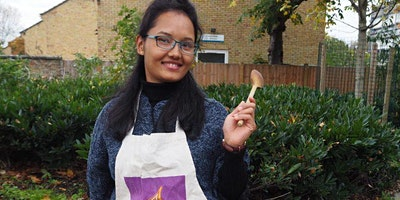 Vegetarian Nepalese cookery class with Urmila