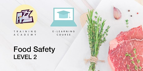 Elearning Course: Level 2 Food Safety tickets