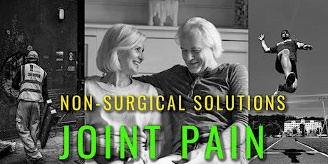 Addressing Joint Pain with Regenerative Medicine - Live Webinar tickets