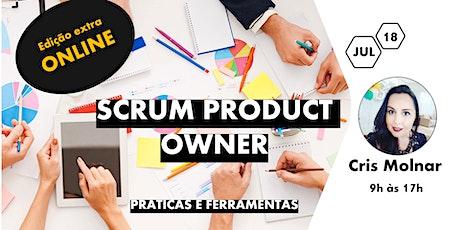 Product Owner - Práticas e Fundamentos  - Edição Online ingressos