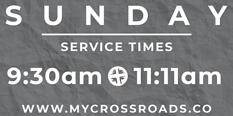 Crossroads Sunday Services tickets
