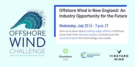 Offshore Wind in New England: An Industry Opportunity for the Future tickets
