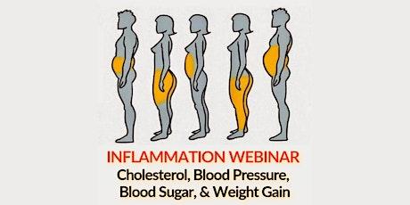 Inflammation Webinar: Cholesterol, Blood Pressure, Blood Sugar, & Weight tickets