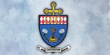 Register for Sunday Mass at St. John Chrysostom Parish tickets
