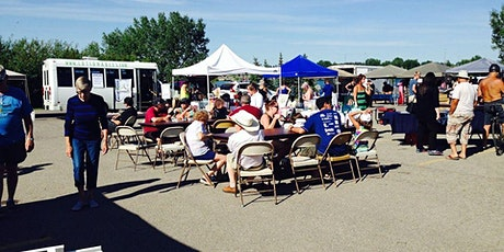 Chestermere weekly summer market tickets