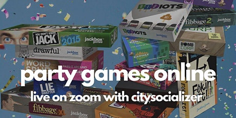 Party Games Online by Citysocializer tickets