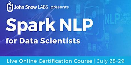 Spark NLP Live Online Training tickets