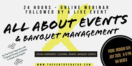 All About Events & Banquet Management tickets