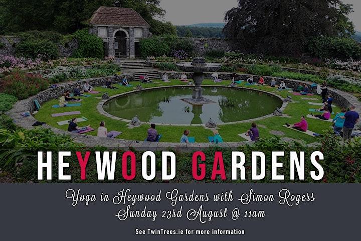 Yoga In Heywood Gardens with Simon Rogers image