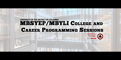 """UDC MBSYEP/MBYLI College and Career Prog. - July 16th - """"The Possible"""" tickets"""