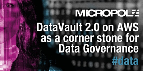 DataVault 2.0 on AWS as a corner stone for Data Governance tickets