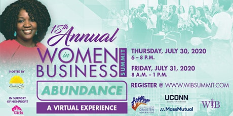 15th Annual Women in Business Summit - Virtual Experience tickets